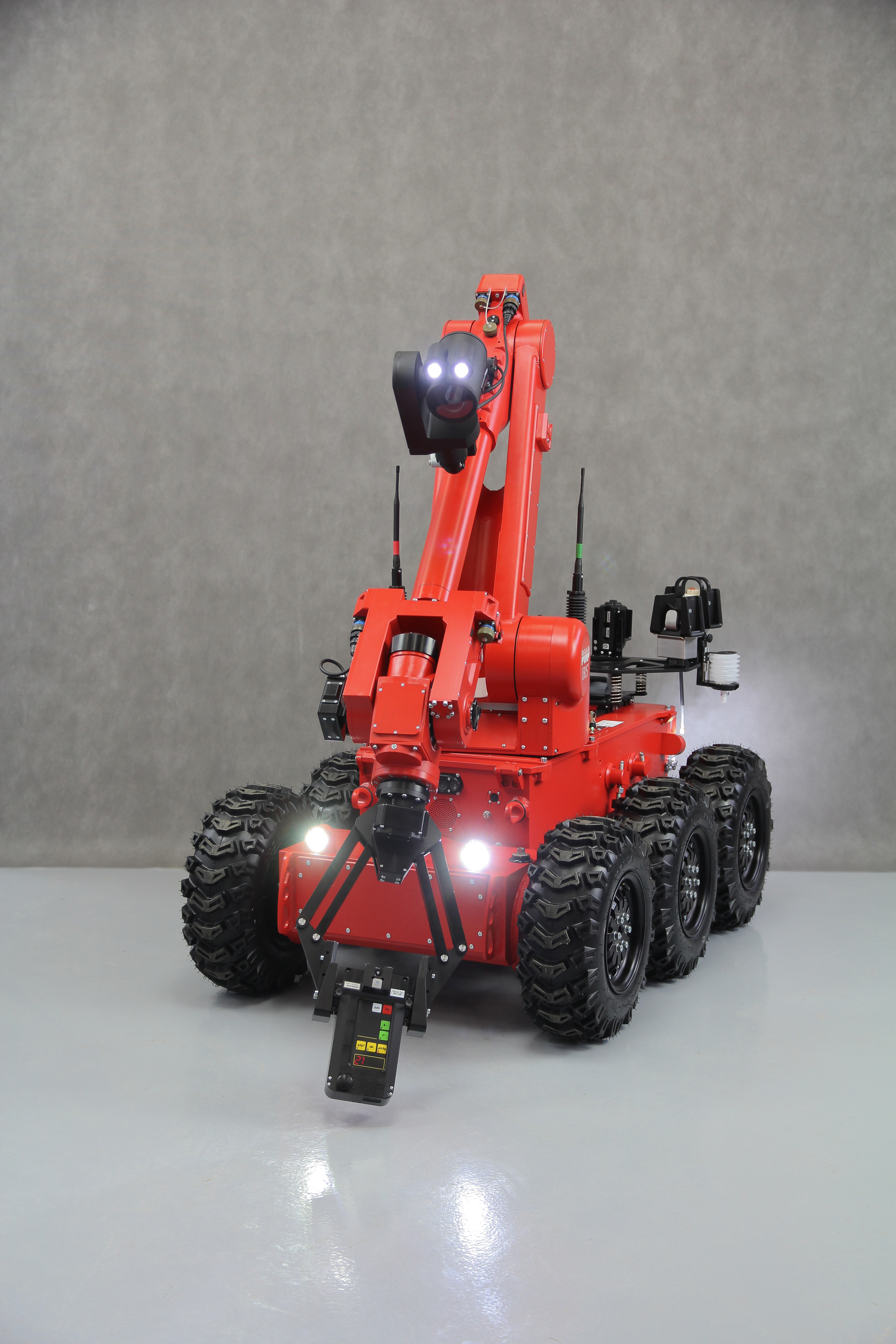 Ibis 174 Is A Robot Designed For Pyrotechnic Operations And